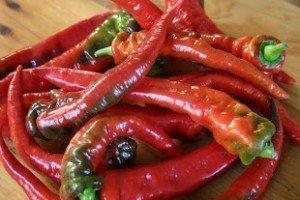 Jimmy Nardello sweet frying pepper