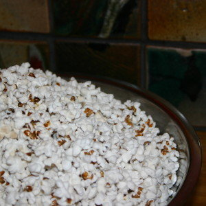 Miniature Black Popcorn.