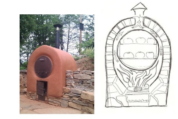 rocket oven and barrel oven